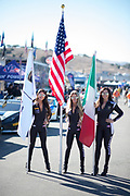 September 21-24, 2017: Lamborghini Super Trofeo at Laguna Seca. Lamborghini grid girl