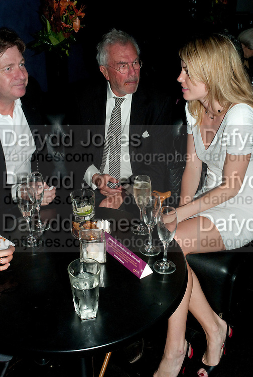 Danny Moynihan; Michael White; Meredith Ostron, The afterparty following the press night of 'Speaking In Tongues', at the Jewel Bar, Maiden Lane. Covent Garden. London. September 28, 2009,