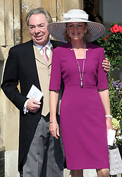 Andrew Lloyd Webber  arriving at  Poppy Delevigne's wedding at St.Paul's Church in Knightsbridge, London , Friday, 16th May 2014. Picture by Stephen Lock / i-Images