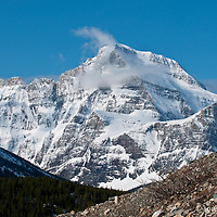 GNP Spring photographs of large mountainscapes from the western united states, north America, Canada, rocky mountains