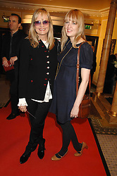 Left to right, CARLY WITNEY and her mother TWIGGY LAWSON at the South Bank Show Awards held at The Dorchester, Park Lane, London on 29th January 2008.<br />