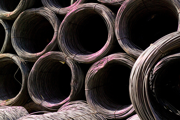 Tianjin, China,exporting, dock workers, Chinese, shipping, port, trucks, export, industrial, shipping hot rolled steel coils