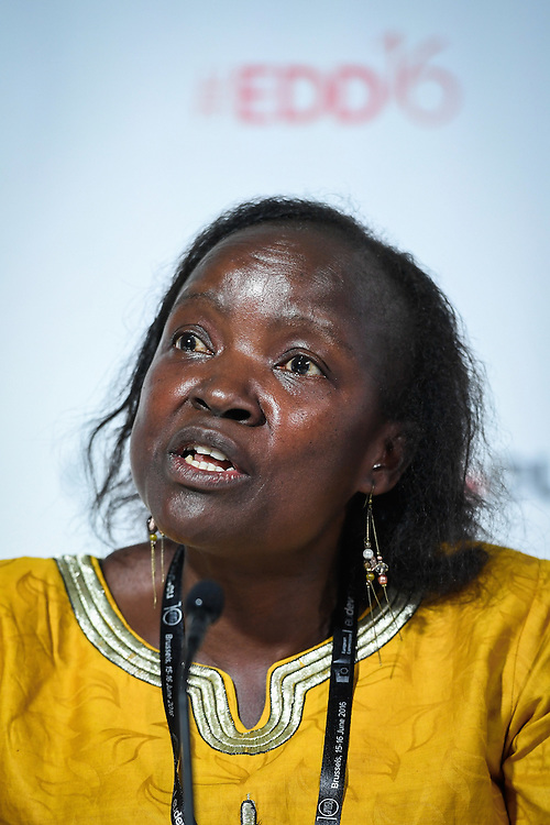 20160615 - Brussels , Belgium - 2016 June 15th - European Development Days - Fulfilling the climate finance potential for the poor - Faith Wandera , Deputy Director of Renewable Energy , Kenya Ministry of Energy and Petroleum © European Union