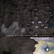 Complejo Criogenico de Jose - Petrozuata. Ubicado en el sector Jose, entre Barcelona y Piritu, en el se encuentran las mas importantes empresas petroleras tanto nacionales como extrangeras entre las que se destacan PEQUIVEN, Sincor, PDVSA y Fertinitro. 08 de abril del 2008. <br /> Photography by Aaron Sosa<br /> Caracas, Venezuela 2008<br /> (Copyright © Aaron Sosa)