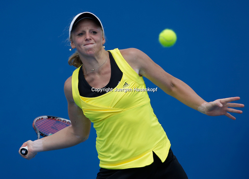 Australien, Melbourne, Sport, Tennis, Grand Slam Tournament, Melbourne Park, Australian Open 2009,..Patricia Mayr (AUT)..Foto: Juergen Hasenkopf..