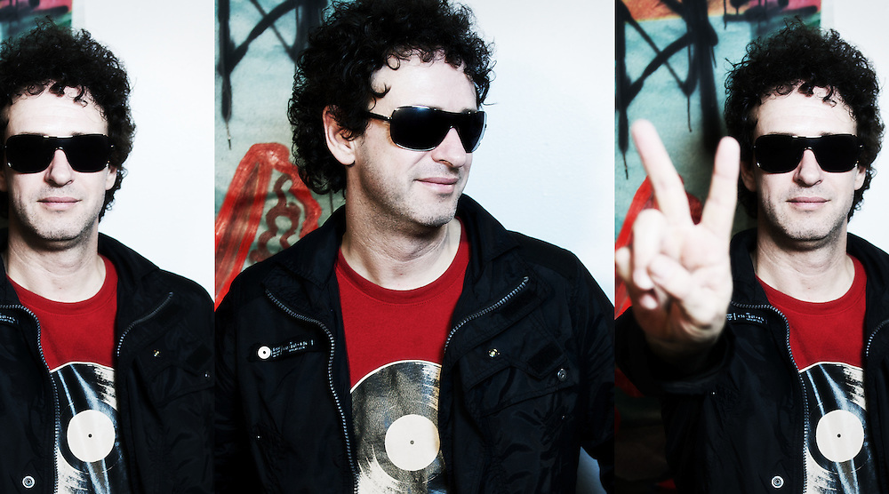 Gustavo Cerati photo shoot for Bazuca Magazine. New York City Puck Building summer 2006