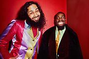 Felchley B Hawks & Count Indigo , London, 1990s.