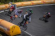 2018 Youth Olympic Games<br /> Buenos Aires, Argentina<br /> Mixed BMX - Race<br /> Motos<br /> SMITH Jessie (NZL)<br /> CLAESSENS Zoe (SUI)<br /> BRADFORD Elissa (GBR)<br /> NAGARE Miru (JAP)<br /> NAVES BARRETO Maite (BRA)<br /> OCHOA Sylvia (ECU)