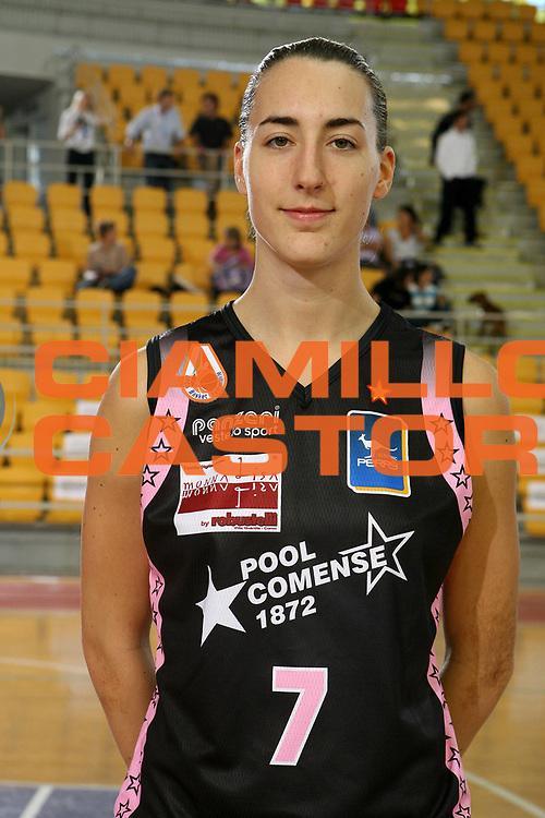 DESCRIZIONE : Roma Lega A1 Femminile 2008-09 Prima giornata Campionato <br /> GIOCATORE : Elisa Silva<br /> SQUADRA : Pool Comense<br /> EVENTO : Campionato Lega A1 Femminile 2008-2009 <br /> GARA : <br /> DATA : 11/10/2008 <br /> CATEGORIA : Ritratto<br /> SPORT : Pallacanestro <br /> AUTORE : Agenzia Ciamillo-Castoria/E.Castoria