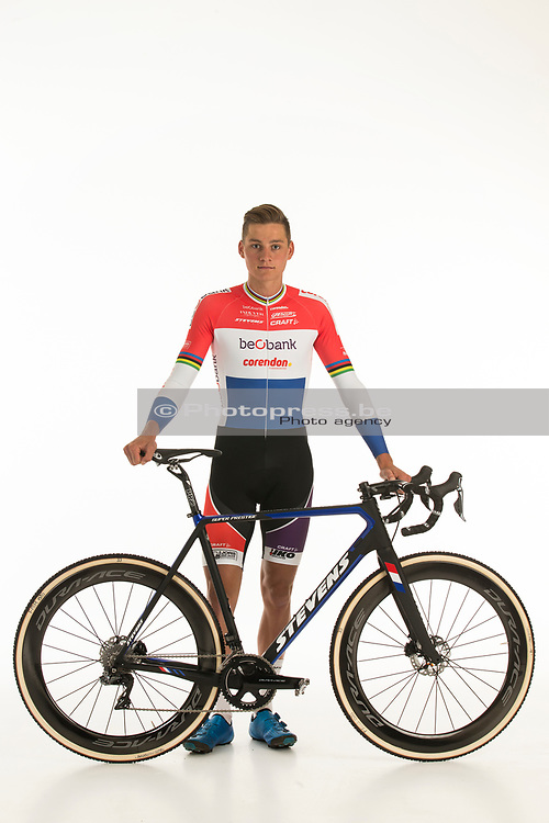 BELGIUM / BELGIQUE / BELGIE / SINT-KATELIJNE-WAVER / CX / CYCLOCROSS / VELDRIJDEN / CYCLO-CROSS / BEOBANK - CORENDON CYCLING TEAM / 2017-2018 / 2017 NATIONAL CHAMPION ELITE MEN OF THE NETHERLANDS / NEDERLANDS KAMPIOEN MANNEN ELITE 2017 / MATHIEU VAN DER POEL (NED) /