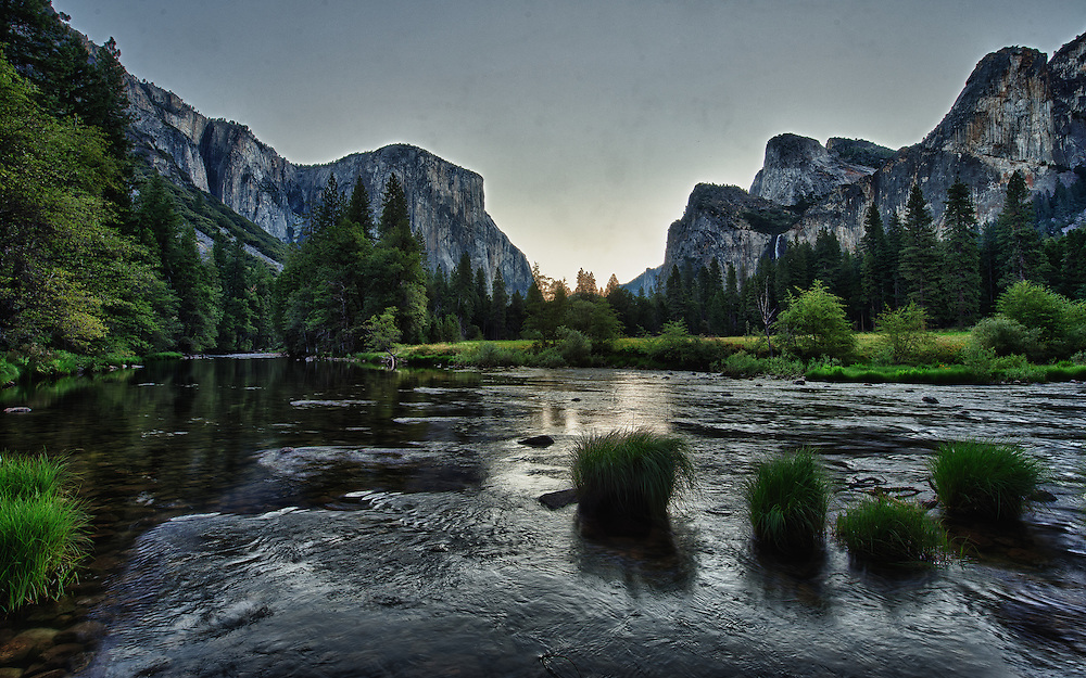 Merced River before Sunrise