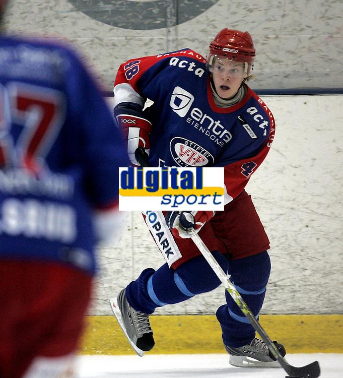 Ishockey<br /> GET-Ligaen<br /> 27.09.07<br /> Furuset Forum<br /> Furuset - V&aring;lerenga VIF<br /> Ken Andre Olimb<br /> Foto - Kasper Wikestad