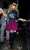 Mariah Carey leaves her Tribeca apartment