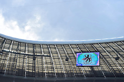 24.04.2016, Allianz Arena, Muenchen, GER, 2. FBL, TSV 1860 Muenchen vs Eintracht Braunschweig, 31. Runde, im Bild Dunkle Wolken ueber der Allianz Arena // during the 2nd German Bundesliga 31th round match between TSV 1860 Muenchen vs Eintracht Braunschweig at the Allianz Arena in Muenchen, Germany on 2016/04/24. EXPA Pictures &copy; 2016, PhotoCredit: EXPA/ Eibner-Pressefoto/ Buthmann<br /> <br /> *****ATTENTION - OUT of GER*****