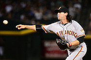PHOENIX, AZ - MAY 14:  Cory Gearrin #62 of the San Francisco Giants delivers a pitch in the ninth inning against the Arizona Diamondbacks at Chase Field on May 14, 2016 in Phoenix, Arizona.  (Photo by Jennifer Stewart/Getty Images)