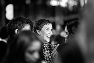 LONDON, ENGLAND - FEBRUARY 16:  (EDITORS NOTE: This image was processed using digital filters)  Actress Maggie Gyllenhaal attends the EE British Academy Film Awards 2014 at The Royal Opera House on February 16, 2014 in London, England.  (Photo by Tim P. Whitby/Getty Images)