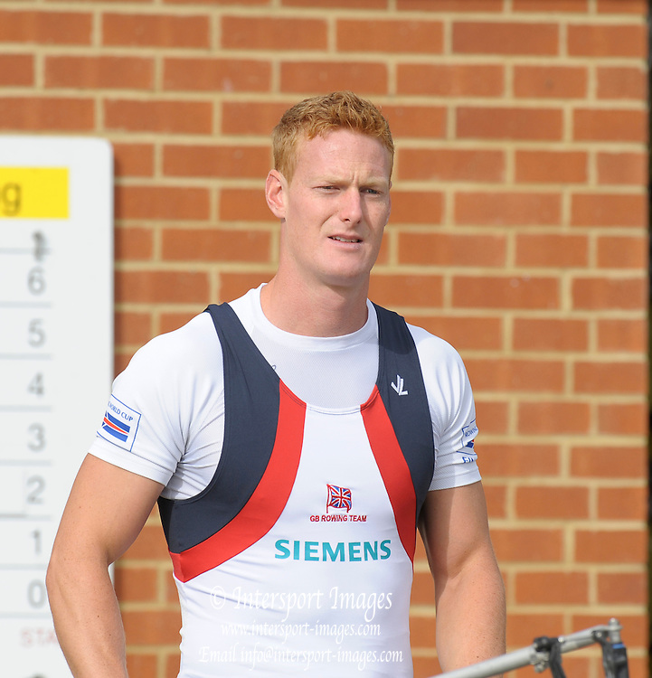 Reading, GREAT BRITAIN,  Marcus BATEMAN, GBR M4X World Championship team announcement, GB Training Centre, Caversham. Thursday  16/07/2009,  [Mandatory Credit Peter Spurrier/ Intersport Images]
