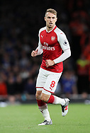 Arsenal's Aaron Ramsey in action during the premier league match at the Emirates Stadium, London. Picture date 11th August 2017. Picture credit should read: David Klein/Sportimage