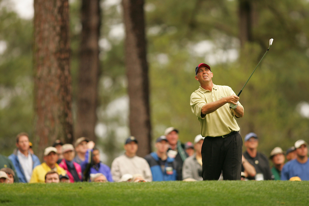 Tom Lehman..2005 Masters Tournament.First Round.Augusta National GC.Augusta GA.Thursday, April 7 2005..photograph by Darren Carroll..04-07-05...