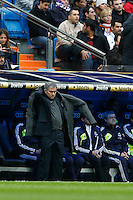 27.01.2013 SPAIN -  La Liga 12/13 Matchday 21th  match played between Real Madrid CF vs Getafe C.F. (4-0) at Santiago Bernabeu stadium. The picture show Jose Mourinho  coach of Real Madrid
