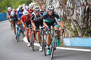 Peter Kennaugh (GBR - Bora - Hansgrohe) - Soren Kragh Andersen (DEN - Team Sunweb) during the Tour of Guangxi 2018, stage 4 cycling race, Nanning - Nongla Scenic Area (152,2 km) on October 19, 2018 in Nongla, China - Photo Luca Bettini / BettiniPhoto / ProSportsImages / DPPI