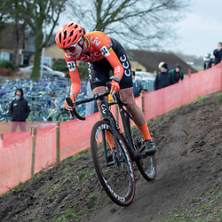 12-01-2020: Wielrennen: NK Veldrijden: Rucphen <br />Marianne Vos