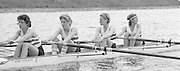 Nottingham. United Kingdom. <br /> ARA LW4X. Sue PANTON, Joanna TOCH S BEW.<br /> Nottingham International Regatta, National Water Sport Centre, Holme Pierrepont. England<br /> <br /> 31.05.1986 to 01.06.1986<br /> <br /> [Mandatory Credit: Peter SPURRIER/Intersport images] 1986 Nottingham International Regatta, Nottingham. UK