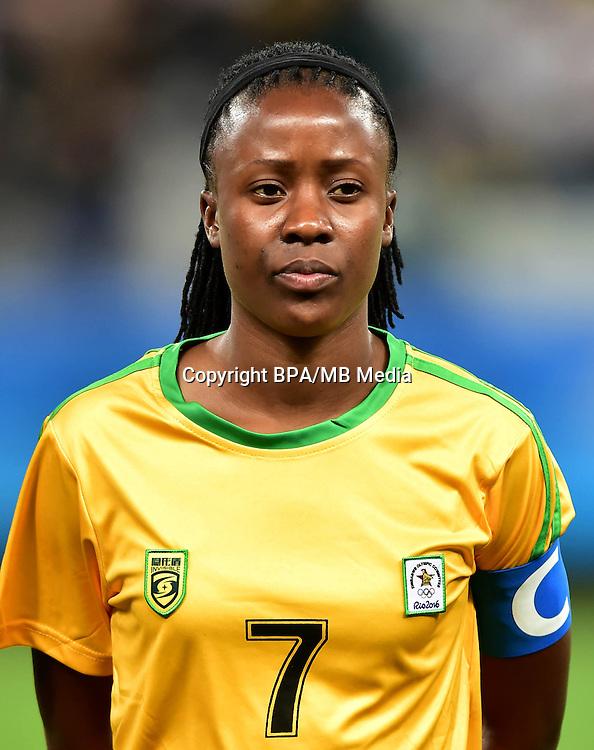 Fifa Woman's Tournament - Olympic Games Rio 2016 -  <br /> Zimbabwe National Team - <br /> Rudo NESHAMBA