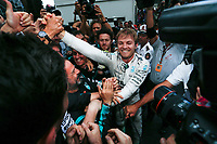 ROSBERG nico (ger) mercedes gp mgp w06 ambiance portrait during the 2015 Formula One World Championship, Grand Prix of Monaco from on May 24th 2015,  in Monaco. Photo Florent Gooden / DPPI