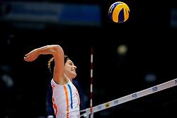 20-08-2009 VOLLEYBAL: WGP FINALS DUITSLAND - NEDERLAND: TOKYO<br /> Nederland wint ook de tweede wedstrijd. Ditmaal werd Duitelsnad met 3-2 verslagen / Francien Huurman<br /> ©2009-WWW.FOTOHOOGENDOORN.NL