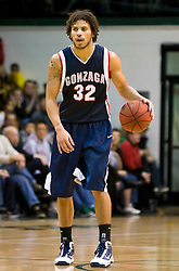 January 30, 2010; San Francisco, CA, USA;  Gonzaga Bulldogs guard Steven Gray (32) during the second half against the San Francisco Dons at the War Memorial Gym.  San Francisco defeated Gonzaga 81-77 in overtime.