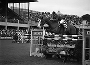 "08/08/1987<br /> 08/08/1987<br /> 08 August 1987<br /> RDS Horse Show, Ballsbridge, Dublin. The Irish Trophy - Grand Prix of Ireland. Nick Skelton (Great Britain) on ""Raffles Apollo""."