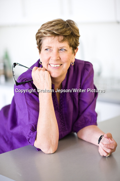 Prue Leith, cookery writer, in her West London home<br /> <br /> copyright Graham Jepson/Writer Pictures<br /> contact +44 (0)20 822 41564<br /> info@writerpictures.com<br /> www.writerpictures.com