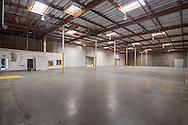 Phoenix, Arizona commercial real estate photographer, interior of warehouse
