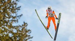03.01.2014, Bergisel Schanze, Innsbruck, AUT, FIS Ski Sprung Weltcup, 62. Vierschanzentournee, Qualifikation, im Bild Stefan Kraft (AUT) // Stefan Kraft (AUT) during qualification Jump of 62nd Four Hills Tournament of FIS Ski Jumping World Cup at the Bergisel Schanze, <br /> Innsbruck, Austria on 2014/01/03. EXPA Pictures © 2014, PhotoCredit: EXPA/ JFK