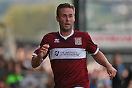 Joel Byrom of Northampton looks on. Skybet football league two match, Newport county v Northampton Town at Rodney Parade in Newport, South Wales on Saturday13th Sept 2014<br /> pic by Mark Hawkins, Andrew Orchard sports photography.