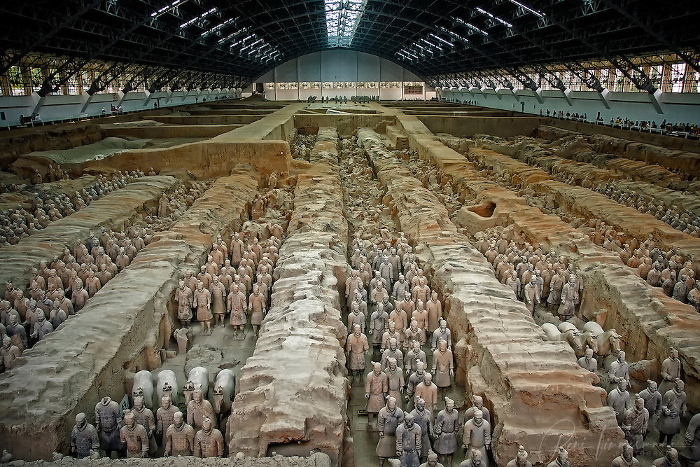 The Terracotta Army.