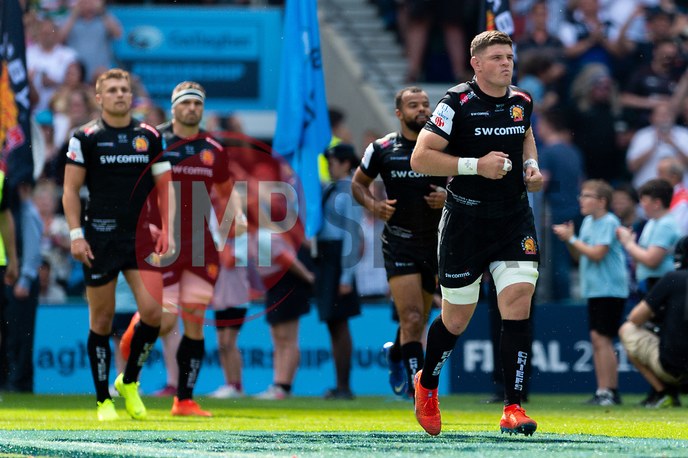Dave Ewers of Exeter Chiefs - Mandatory by-line: Ryan Hiscott/JMP - 01/06/2019 - RUGBY - Twickenham Stadium - London, England - Exeter Chiefs v Saracens - Gallagher Premiership Rugby Final