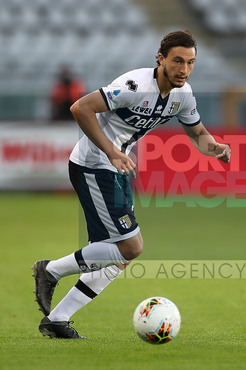 Parma Calcio's Italian defender Matteo Darmian during the Serie A match at Stadio Grande Torino, Turin. Picture date: 20th June 2020. Picture credit should read: Jonathan Moscrop/Sportimage