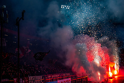 Fireworks before the match between Ajax and PSV at Johan Cruyff Arena on February 02, 2020 in Amsterdam, Netherlands