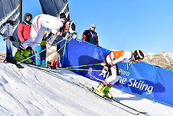 AIGNER Veronika, Guide: AIGNER Elizabeth, B2, AUT, Giant Slalom at the WPAS_2019 Alpine Skiing World Cup, La Molina, Spain