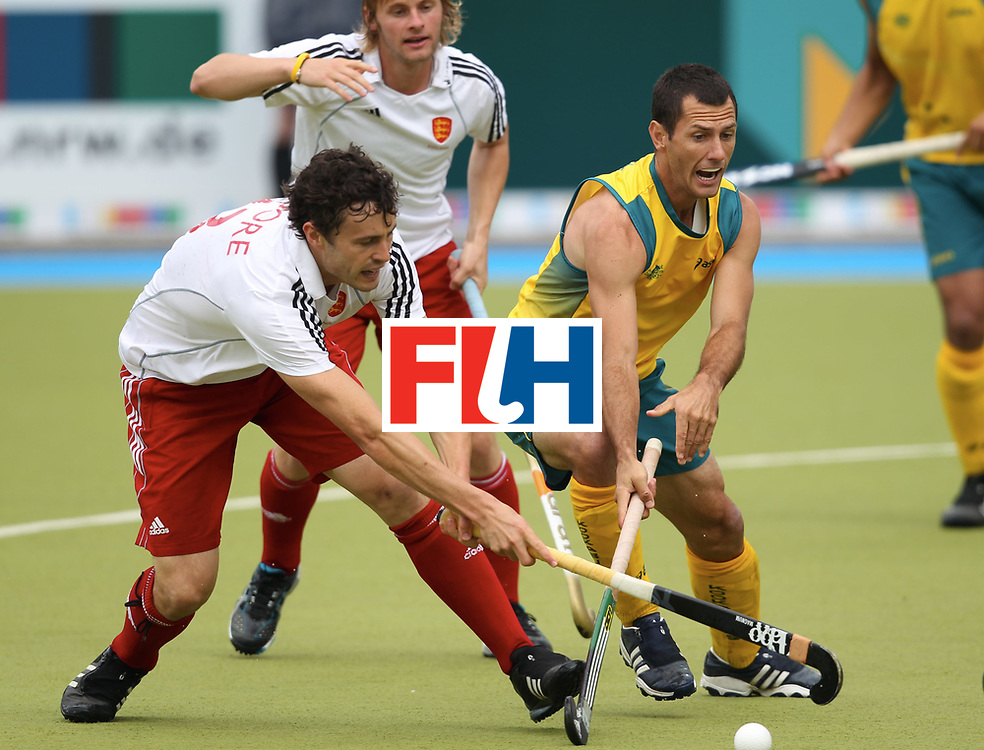 Mens Champions Trophy, Monchengladbach, Germany, 2010<br /> Final<br /> Australia  v England Day , 08/08/10<br /> foto: Rob Moore and Jamie dwyer.<br /> Credit: Grant Treeby<br /> <br /> Editorial use only (No Archiving) Unless previously arranged