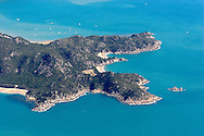 Aerial view of Magnetic Island, Queensland, Australia