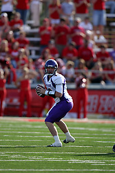 29 September 2007:  Patrick Grace sees some action as quarterback after starter Eric Sanders suffers an injury. In action between the Northern Iowa Panthers and the Illinois State Redbirds, the Panthers chewed up the Redbirds by a score of 23 - 13. Game action commenced at Hancock Stadium on the campus of Illinois State University in Normal Illinois..