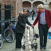 NLD/Den Haag/20180831 - Gasten arriveren bij afscheid vice-president Raad van State Piet Hein Donner, Minister van Sint Maarten Jetta Klijnsma en partner
