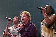 Live38 is het jaarlijks terugkeerdende spektakel in AHOY van Radio 538. Tevens is dit het verjaardagsfeestje dat Radio 538 met haar luisteraars viert. Tijdens dit evenement ligt de nadruk op Live muziek. .Simply Red, is een Britse soul/popgroep rond zanger Mick Hucknall, bijgenaamd 'Red' vanwege z'n rode haar. In zowel de jaren tachtig als negentig scoren ze veel hits, waaronder 'If you don't know me by now', 'Something got me started' en 'Fairground'. Na enkele stille jaren keren ze in 2003 teug met een nieuw album, een hitsingle en een optreden op Live38 in Concert.