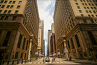 Financial District, LaSalle & Jackson Streets