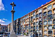 Cementeri Les Corts, Barcelona, Catalonia, Spain.
