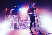 Taking Back Sunday performing live at The Warfield concert venue in San Francisco, CA on March 1, 2015