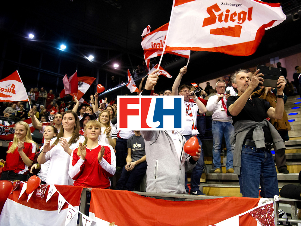 BERLIN - Indoor Hockey World Cup<br /> Semi-final 2: Australia - Austria<br /> foto: Austria wins.<br /> WORLDSPORTPICS COPYRIGHT FRANK UIJLENBROEK
